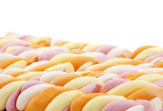 Marshmallow μεταχειρίζεται Στοκ εικόνα με δικαίωμα ελεύθερης χρήσης