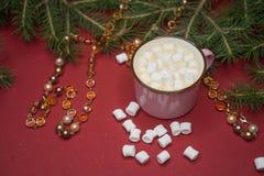 Marshmallow νέος-έτους Στοκ φωτογραφίες με δικαίωμα ελεύθερης χρήσης