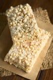 Marshmallow, σκαμένοι Quinoa και φραγμοί καρύδων Στοκ φωτογραφία με δικαίωμα ελεύθερης χρήσης