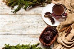 Marshmallow στη σοκολάτα Στοκ Εικόνες