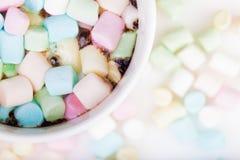 Marshmallow στο φλυτζάνι Στοκ φωτογραφίες με δικαίωμα ελεύθερης χρήσης