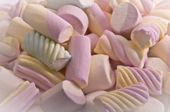 Marshmallow. Sweet marshmallows, food, many sweets royalty free stock photography
