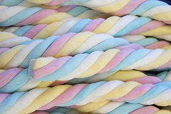 Marshmallow background Royalty Free Stock Image