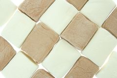 Marshmallow background Royalty Free Stock Photography