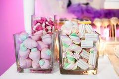 Marshmallow bufet zdjęcie royalty free