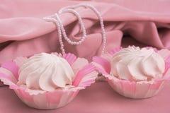 Marshmallow cake Stock Image