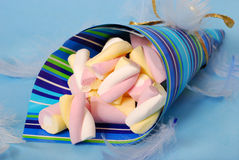 Marshmallow candies Royalty Free Stock Image