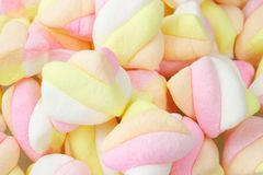 Marshmallow candies Stock Image