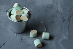 Marshmallow candies, jelly candies stock image