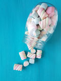 Marshmallow candies Royalty Free Stock Photos