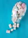 Marshmallow candies royalty free stock photos