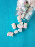 Marshmallow candies Stock Photography