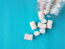 Marshmallow candies royalty free stock images