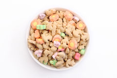 Marshmallow Cereal 2 Royalty Free Stock Photography
