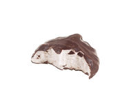 Marshmallow in a chocolate Royalty Free Stock Photos