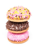 Marshmallow ciastka Odizolowywający Obrazy Royalty Free