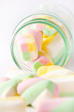 Marshmallow colorido Imagem de Stock