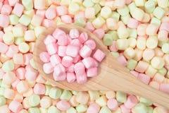 Marshmallow colorido Foto de Stock Royalty Free