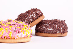 Marshmallow cookies Royalty Free Stock Photos