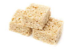 Marshmallow Crispy Rice Treat Stock Photography