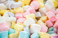 Marshmallow cubes Royalty Free Stock Photos