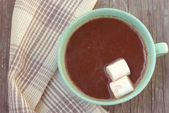 Marshmallow in the Cup Royalty Free Stock Image