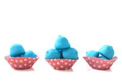 Marshmallow cupcake Royalty Free Stock Photo