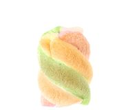 Marshmallow. Different color. Close up. Royalty Free Stock Image