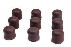 Marshmallow do chocolate Fotos de Stock