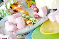 Marshmallow For Kids Stock Photos