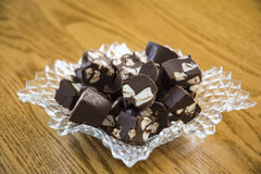 Marshmallow Fudge Royalty Free Stock Photo