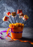 Marshmallow  for Halloween Royalty Free Stock Photo
