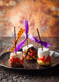 Marshmallow  for Halloween Stock Photography