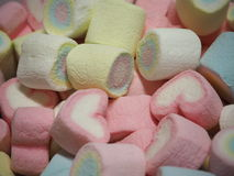 Marshmallow Heart Royalty Free Stock Image