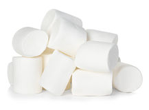 Marshmallow isolated on white Royalty Free Stock Image