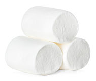 Marshmallow isolated on white Stock Images