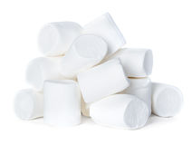 Marshmallow isolated on white Stock Photography