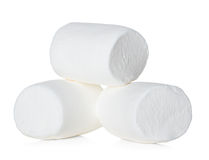 Marshmallow isolated on white Royalty Free Stock Photos