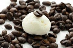 Marshmallow kawa i rękodzieło Zdjęcia Royalty Free
