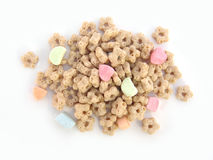 Marshmallow kids cereal Royalty Free Stock Photos