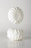 Marshmallow lewitaci kreatywnie karmowa fotografia Obrazy Stock
