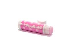 Marshmallow lip balm Stock Photo