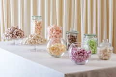 Marshmallow and meringue Royalty Free Stock Image