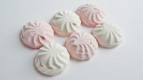 Marshmallow, Meringue,zephyr Stock Image