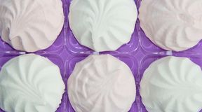Marshmallow, Meringue,zephyr Royalty Free Stock Photography