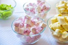 Marshmallow Pastel, em borracha imagem de stock royalty free