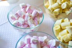 Marshmallow Pastel, em borracha imagem de stock