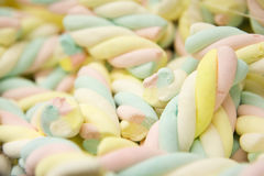 Marshmallow pile Royalty Free Stock Photography