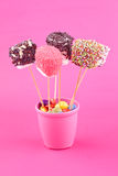 Marshmallow pops Royalty Free Stock Image