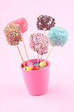 Marshmallow pops Royalty Free Stock Images